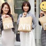 Shopping at Zara Ginza